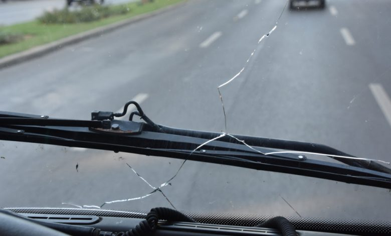 How to fix a cracked windshield on your truck